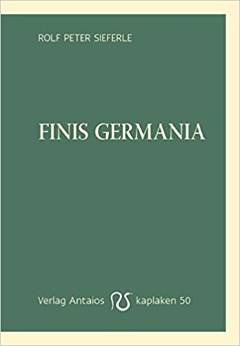 Buch Cover für Finis Germania (Kaplaken) by Rolf Peter Sieferle