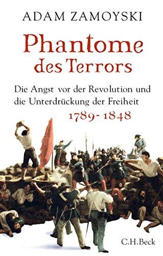 Buch Cover für Phantome des Terrors: Die Angst vor der Revolution und die Unterdrückung der Freiheit