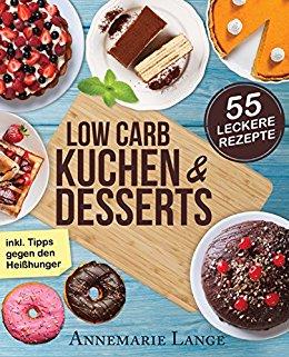 Buch Cover für Low Carb Kuchen und Desserts