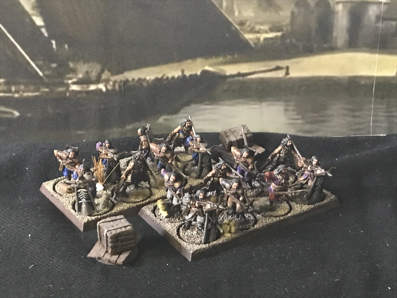 Sauron et ses 10 Armées - L' Armée de L'Immortel 9o7lh4hm