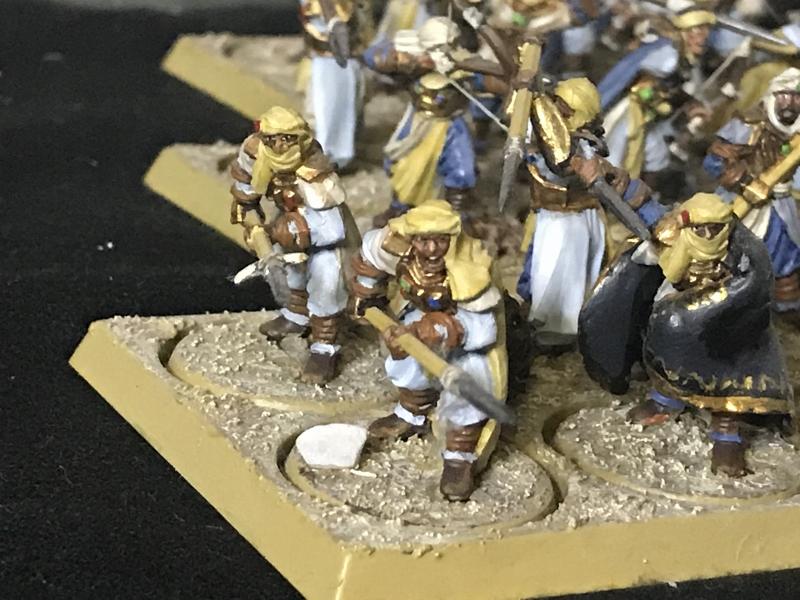 Sauron et ses 10 Armées - L' Armée de L'Immortel Dosh98do