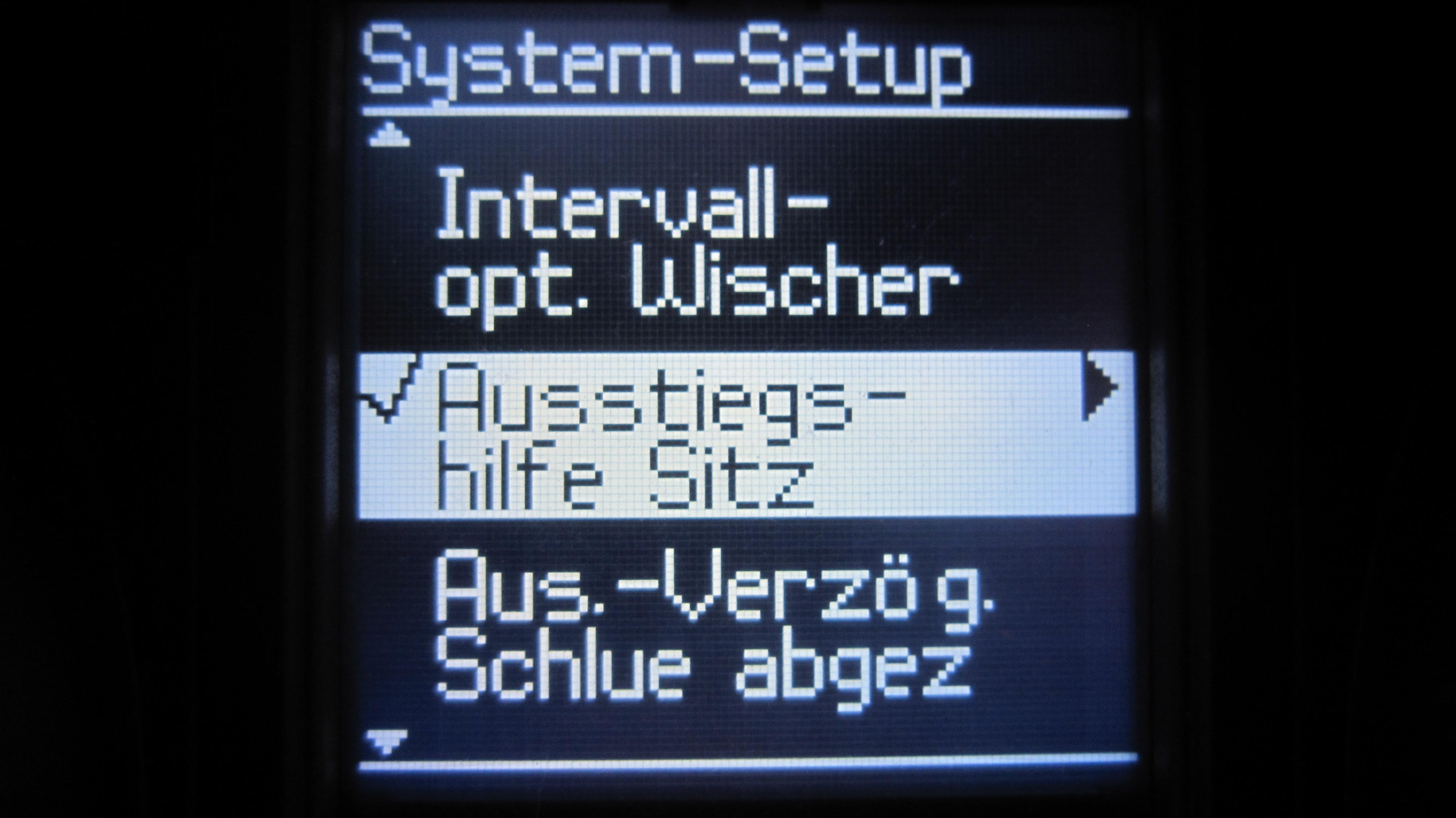 Nachrüstung Memory-Sitz im Voyager Gold (Sales Code JT2) - Voyager ...
