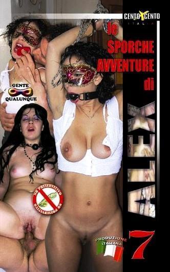 Le Sporche Avventure di Alex 7 Cover