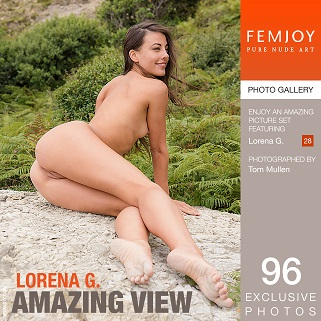 Lorena G  Amazing View Cover