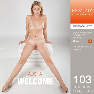 Alisha  Welcome Cover