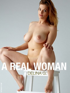 Delina G A Real Woman Cover