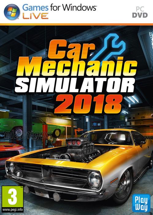 Car Mechanic Simulator 2018 (2017) MULTi13-ElAmigos / Polska Wersja Językowa