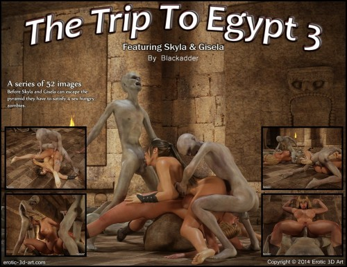 The Trip To Egypt 3 Cover