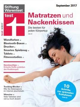 Stiftung Warentest: Testheft September 2017