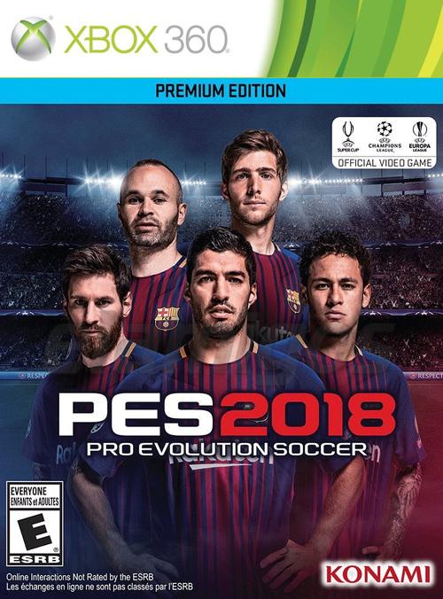 Pro Evolution Soccer 2018 (2017)