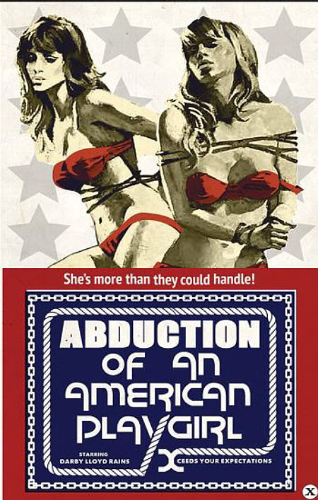 Abduction of an American Playgirl -1975- Cover
