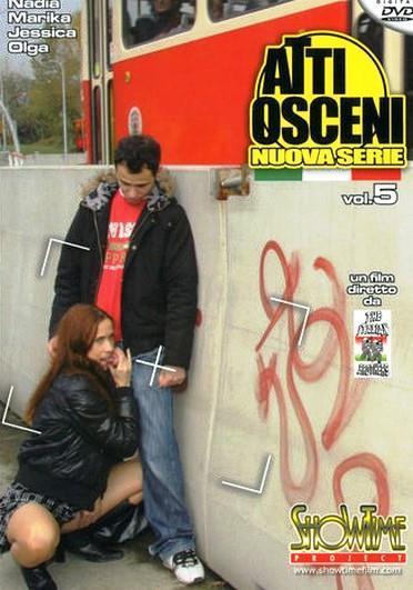 Atti Osceni 5 (Nuova serie)  Cover