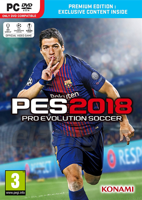 PES 18 / Pro Evolution Soccer 2018 (2017)