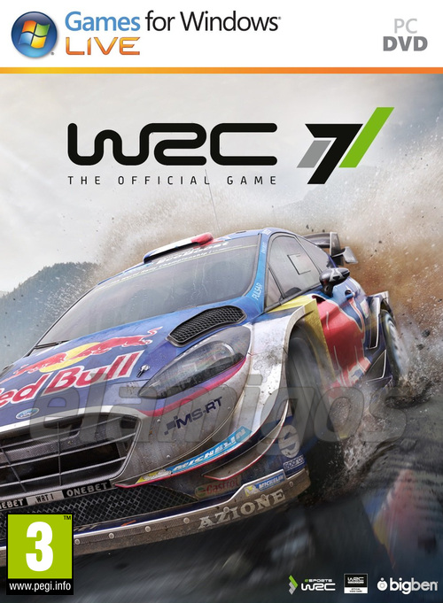 WRC 7: FIA World Rally Championship (2017)