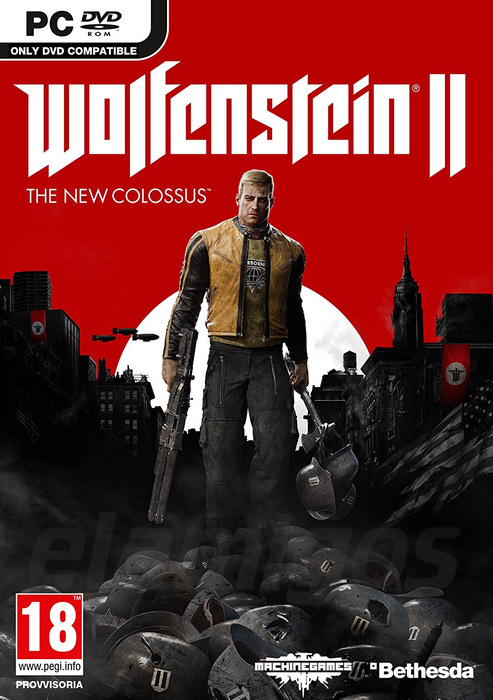 Wolfenstein II: The New Colossus (2017)