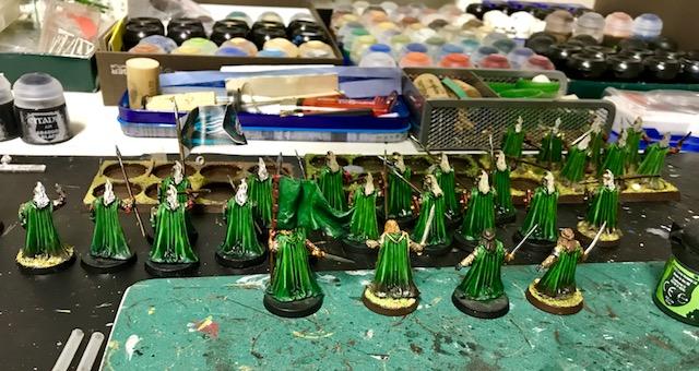 Aragorn et les 5 Armées - Armée de Mirkwood Update T6eolp8w