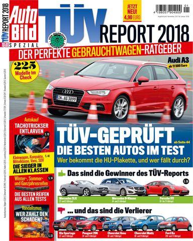 Auto Bild Zeitung Spezial TueV Report 2018