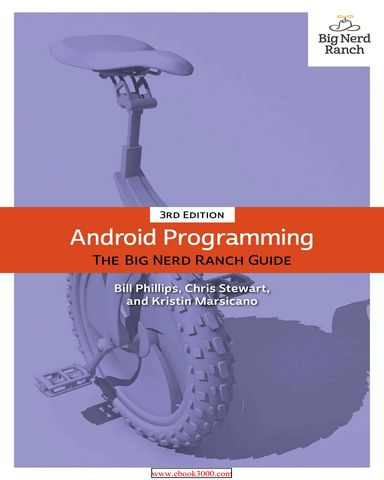 : Android Programming The Big Nerd Ranch Guide 3rd Edition