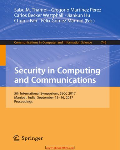 : Security in Computing and Communications