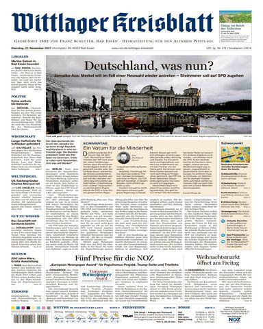 download Wittlager.Kreisblatt.21.November.2017