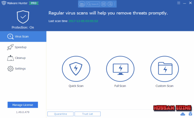 البرمجيات أصداراته Glary Malware Hunter 1.49.0.479 Final 2018,2017 9zsixgkm.png