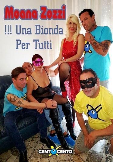Moana Zozzi Una Bionda per Tutti (2017) Cover