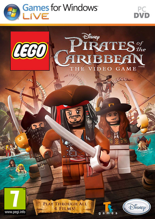 LEGO Pirates Of The Caribbean: The Video Game (2011)