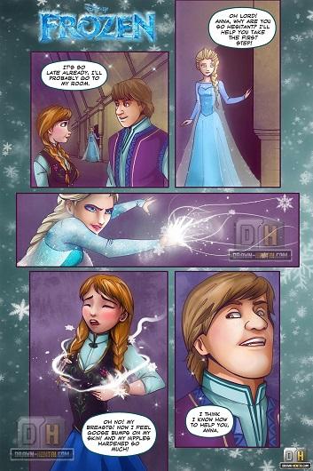 Drawn-Hentai - Disney - Frozen