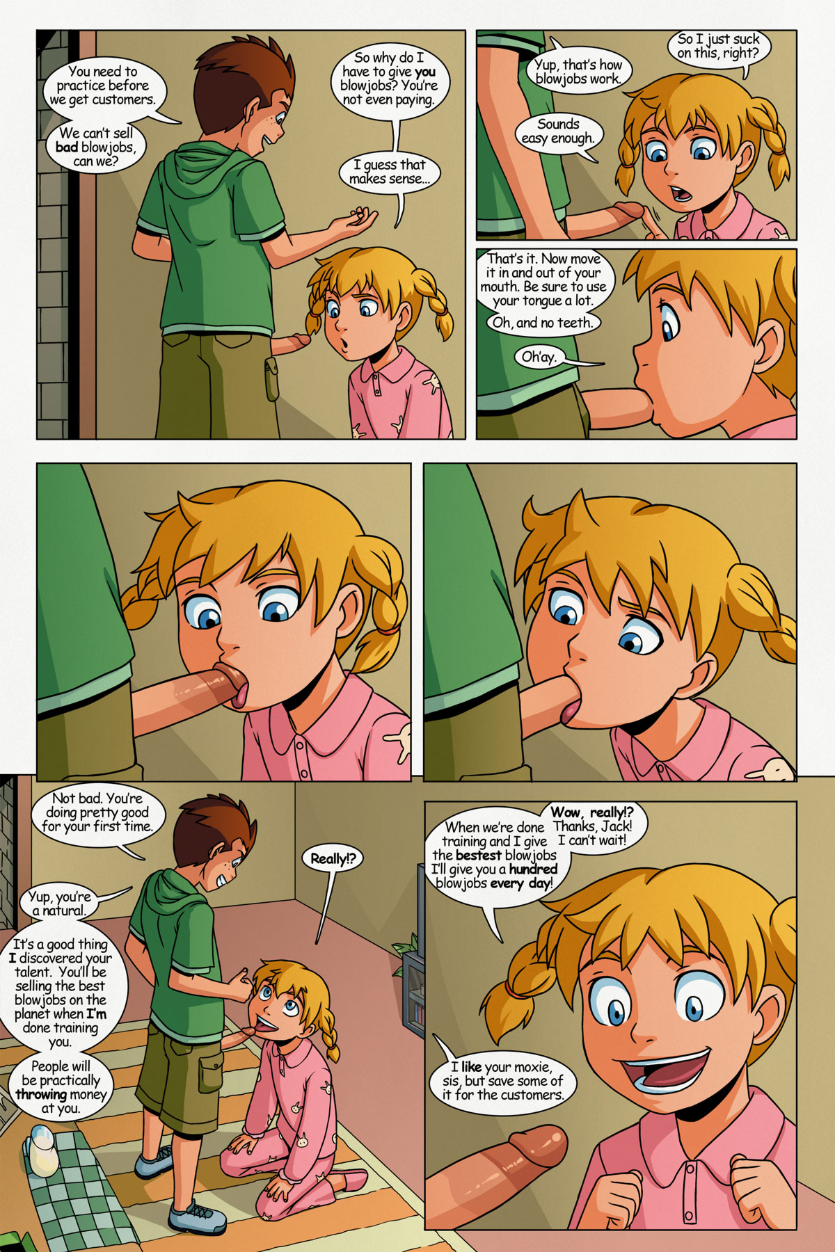 A collection of comic book author Incognitymous - 10 Comic