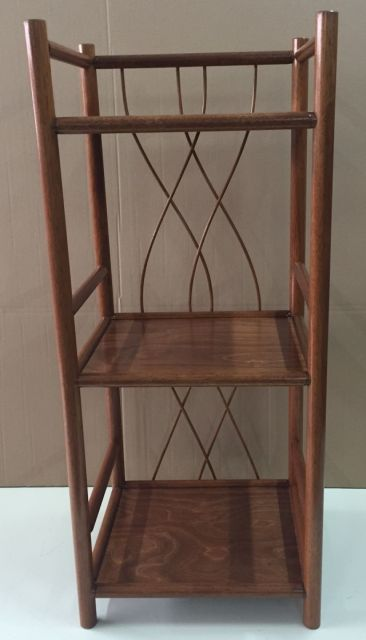 Holz regal rattan ramin neu made in germany farbe - Rattan regal badezimmer ...