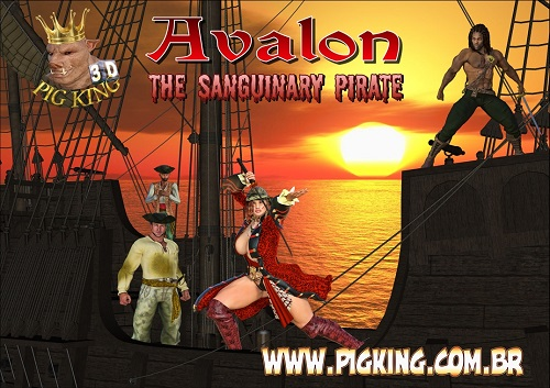 Pig King - Avalon The Sanguinary Pirate