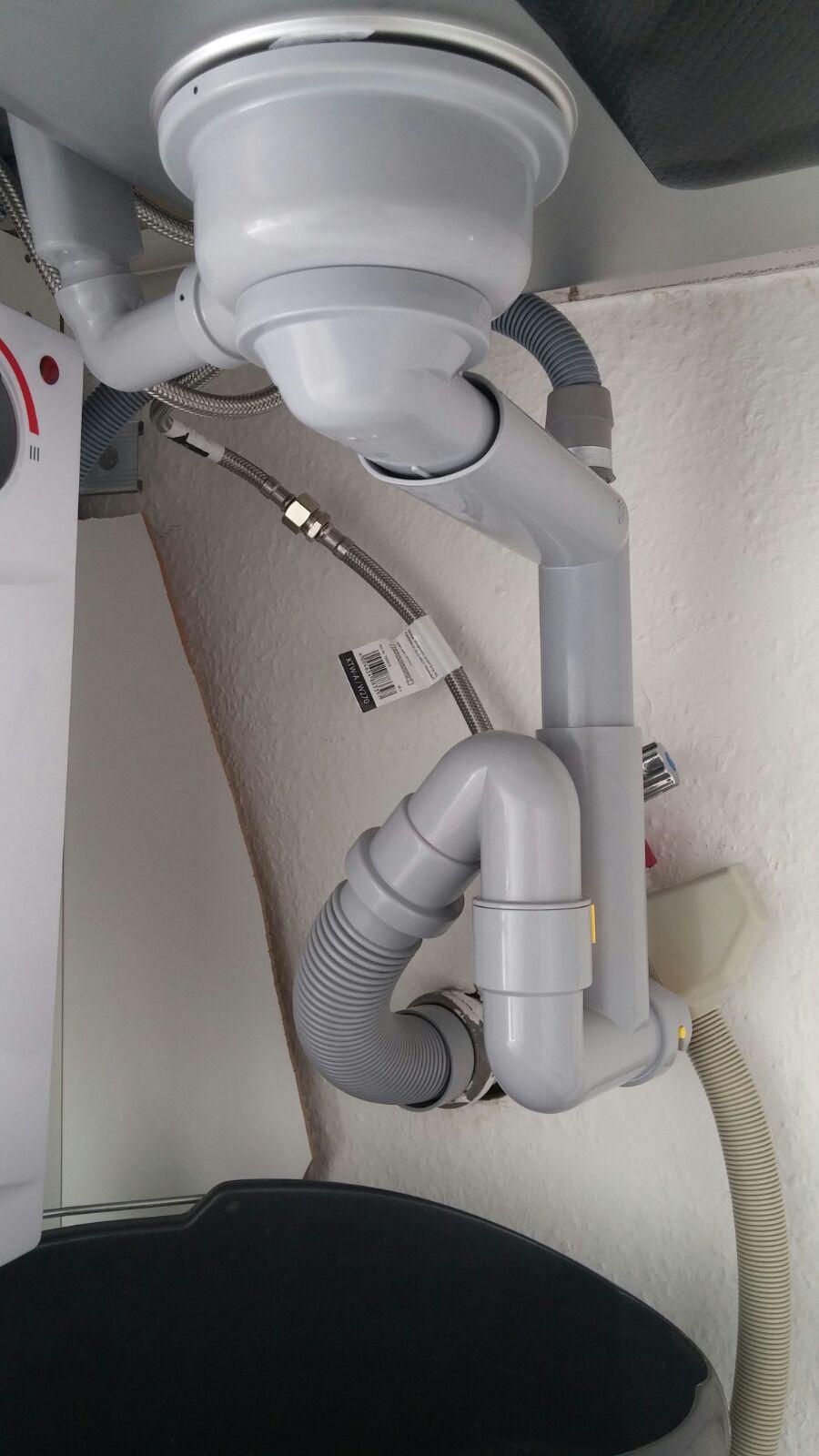 Fabulous Siphon IKEA - Wasser läuft langsam ab - HaustechnikDialog MC92