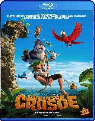 Robinson Crusoe (2016) 3D H.SBS .mkv BDRip 1080p x264 ITA ENG DTS AC3 Subs SBS