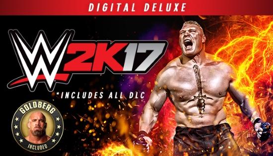 WWE 2K17 Digital Deluxe Edition Cracked – 3DM